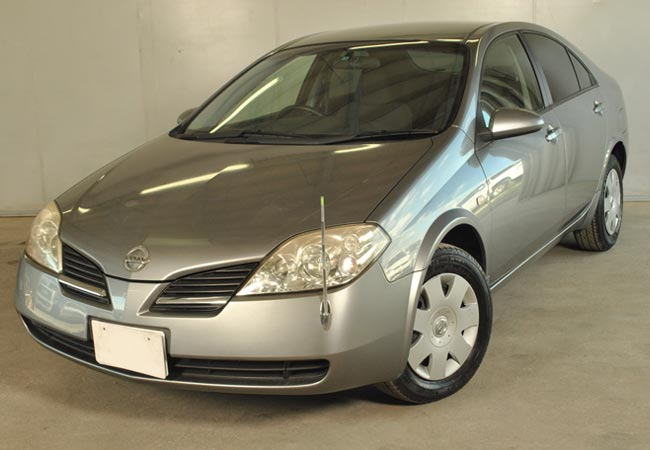 used nissan primera sedans 2002 model in silver used cars stock 52367 cso japan. Black Bedroom Furniture Sets. Home Design Ideas