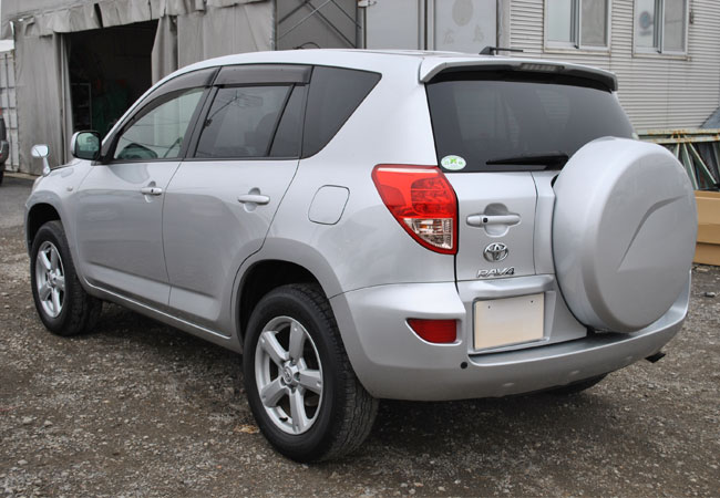 Used Toyota Rav4 Suv 4wd 2007 Model In Silver Used Cars