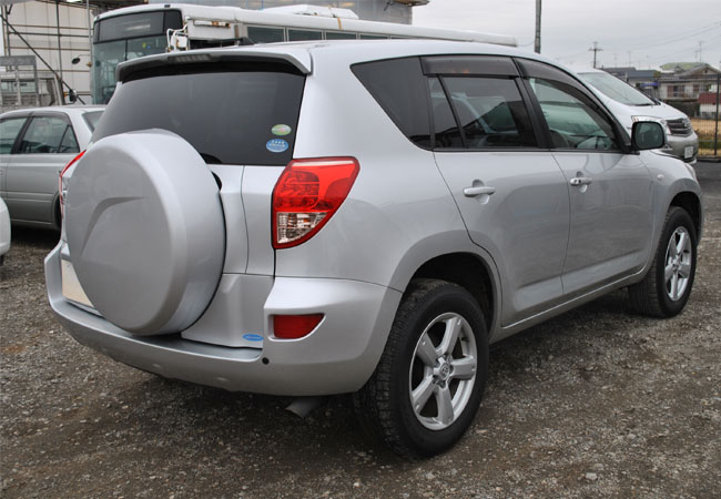used toyota rav4 suv 4wd 2007 model in silver used cars. Black Bedroom Furniture Sets. Home Design Ideas