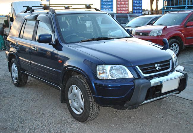 Used Honda CR-V SUV/ 4WD 1995 model in Dark Blue | Used ...