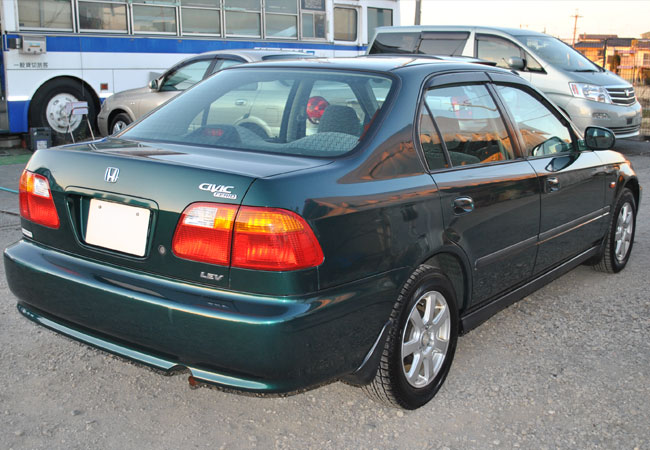Used honda civic sedans 2000 model in green used cars for Used 2000 honda civic