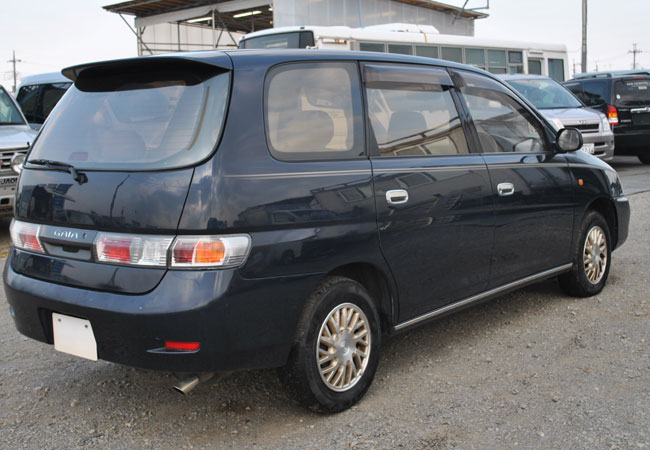 Used Toyota gaia Wagons 1999 model in Dark Blue | Used Cars Stock
