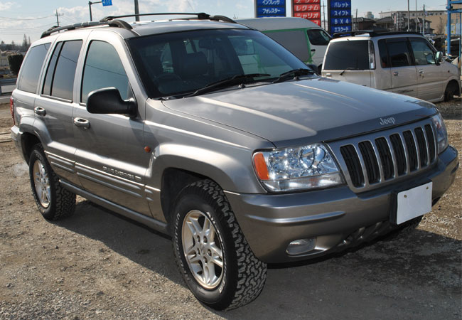 Used Chrysler Jeep Cherokee Suv 4wd 2000 Model In Silver