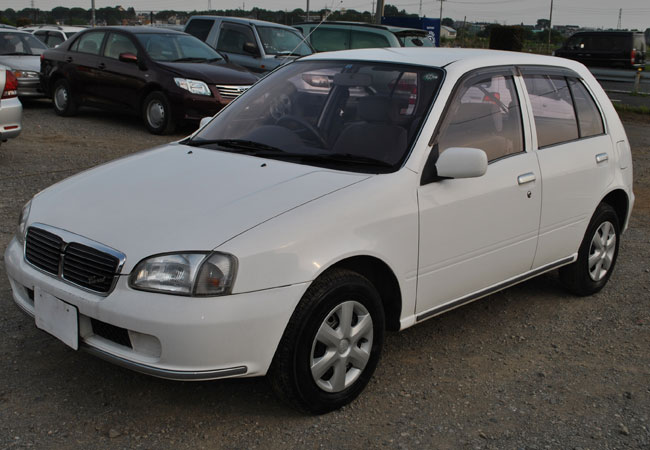 Used Toyota Starlet Hatchbacks 1999 Model In White Used