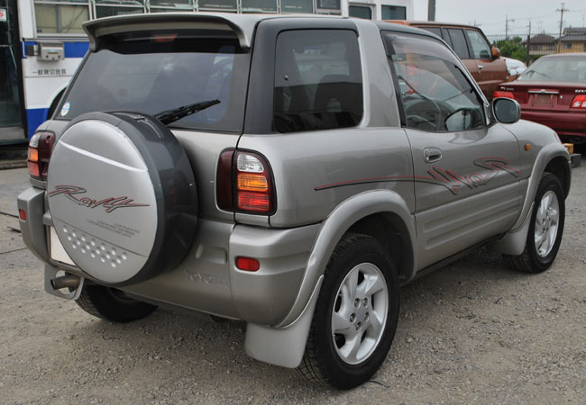 used toyota rav4 suv 4wd 1998 model in gray used cars stock 53261 cso japan. Black Bedroom Furniture Sets. Home Design Ideas