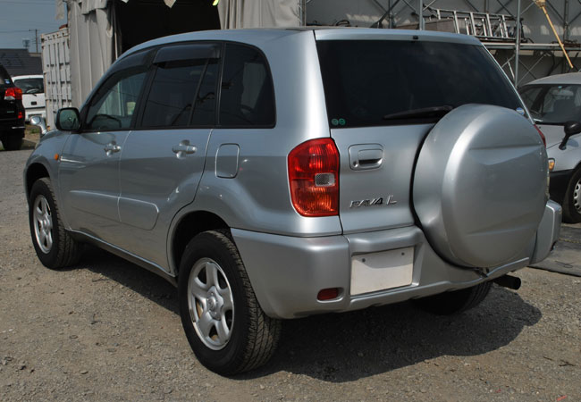 Used Toyota Rav4 Suv 4wd 2000 Model In Silver Used Cars