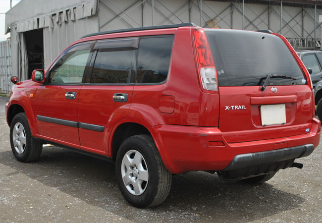 used nissan x trail suv 4wd 2000 model in red used cars stock 53360 cso japan. Black Bedroom Furniture Sets. Home Design Ideas