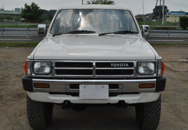 Used Toyota Hilux Suv 4wd 1987 Model In White Used Cars