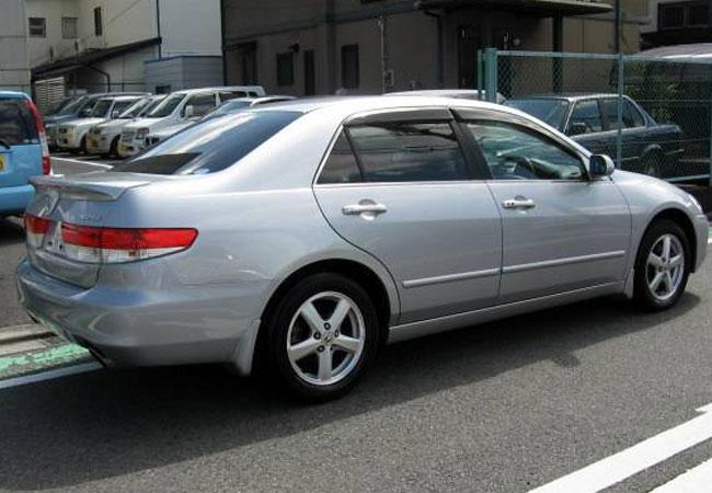 Used Honda inspire Sedans 2004 model in Silver | Used Cars Stock 53503 | CSO Japan