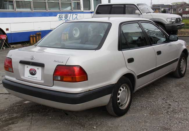 corolla 1996 japan