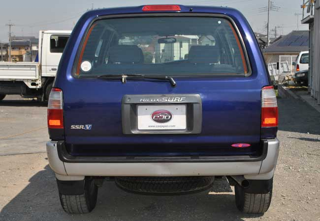 Used Toyota Hilux Surf Suv 4wd 1997 Model In Blue 2 Tone