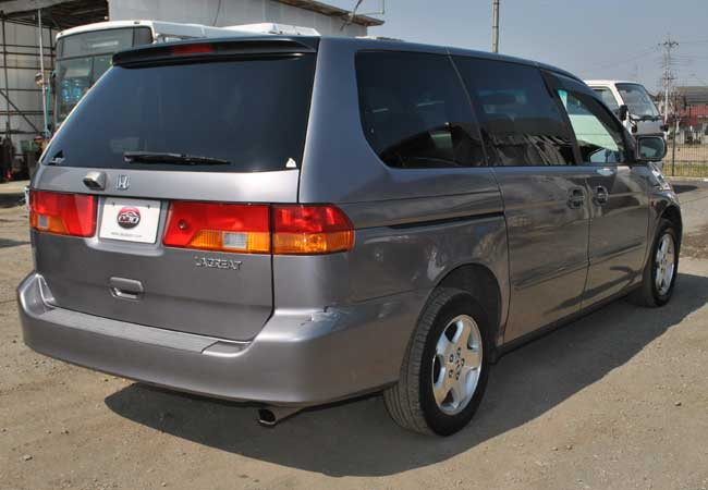 Used Honda lagreat Wagons 1999 model in Gray   Used Cars Stock