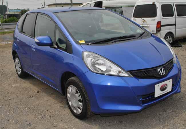 used honda fit hatchbacks 2010 model in blue used cars. Black Bedroom Furniture Sets. Home Design Ideas