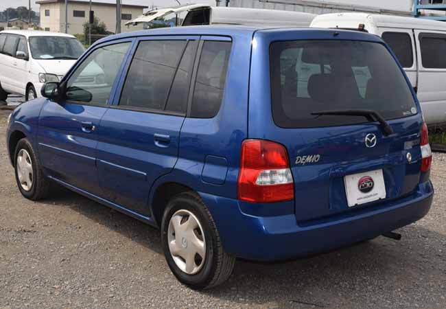 Used Mazda Demio Hatchbacks 2002 Model In Blue Used Cars