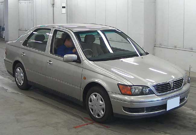 Used Toyota Vista Sedans 2000 Model In Silver Used Cars Stock