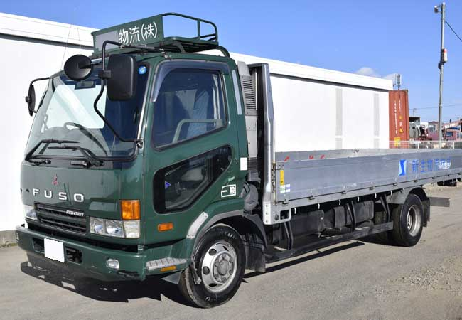 Used Mitsubishi fuso fighter Trucks 2001 model in Green | Used Cars
