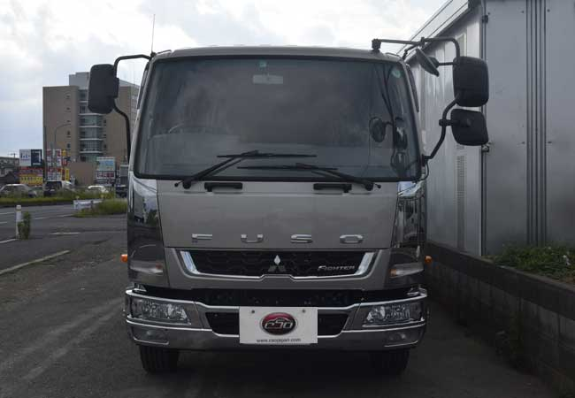 Mitsubishi Fuso Fighter Trucks 2017 Model In Beige Stock 59436