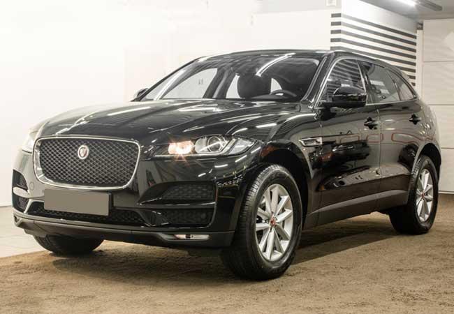Jaguar f-pace pure 2017 image4