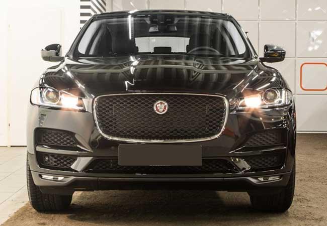 Jaguar f-pace pure 2017 image5