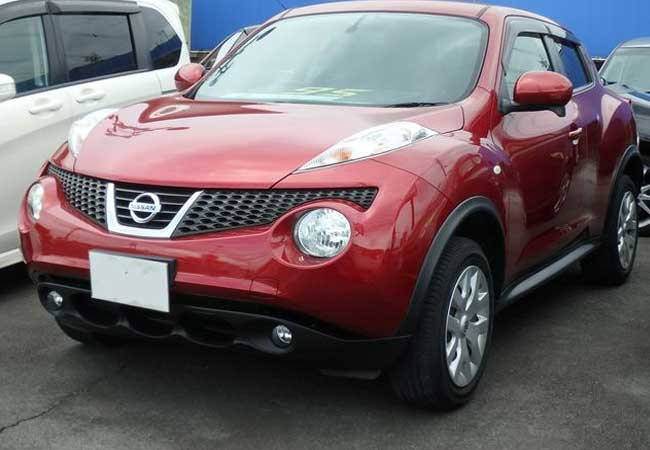 Used Nissan juke SUV/ 4WD 2013 model in Red | Used Cars Stock 59787 ...