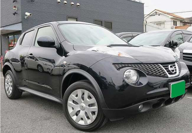 Used Nissan juke SUV/ 4WD 2013 model in Black | Used Cars Stock ...