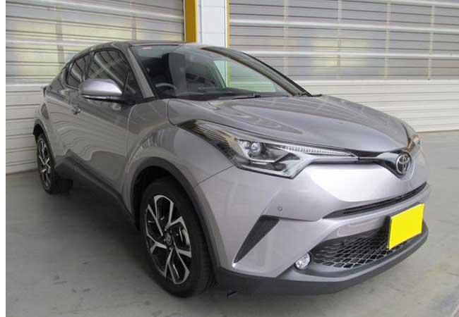 Toyota c-hr 2017 image1