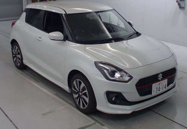 Used Suzuki swift Hatchbacks 2017 model in Pearl White
