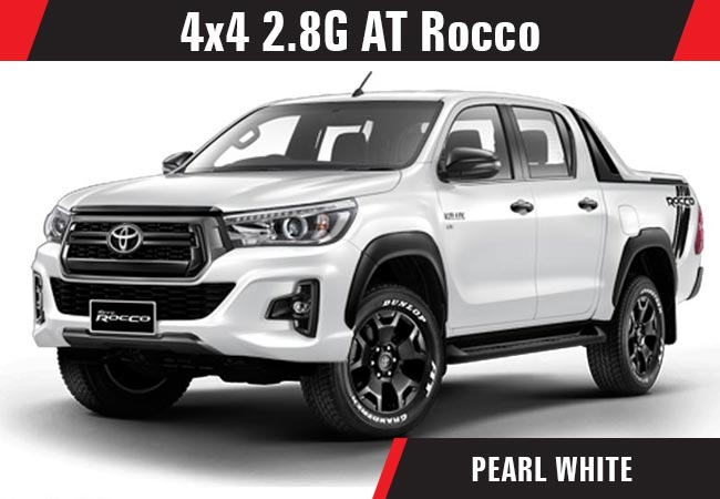 Toyota Hilux Revo Rocco Pickup Trucks 2018 Model In Pearl