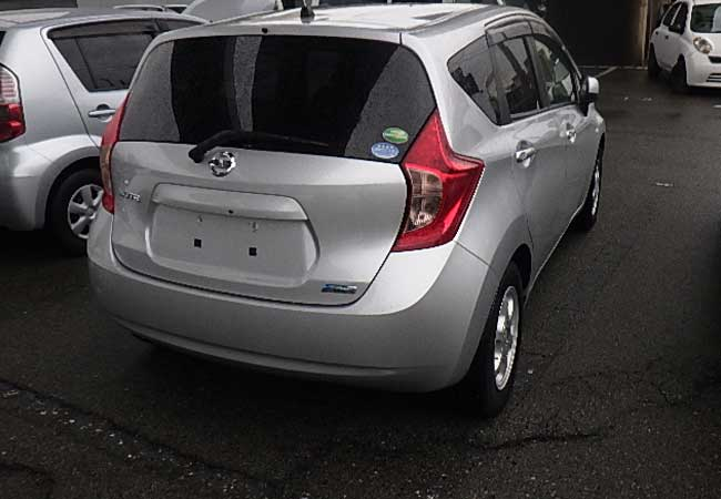 Nissan note 2012 image2