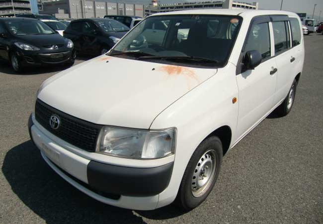 Used Toyota Probox Wagons 2013 Model In White Used Cars