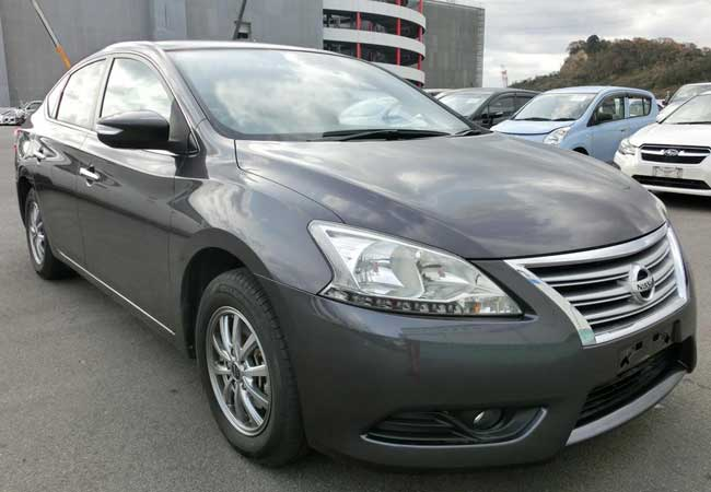 Nissan bluebird sylphy 2014 image1