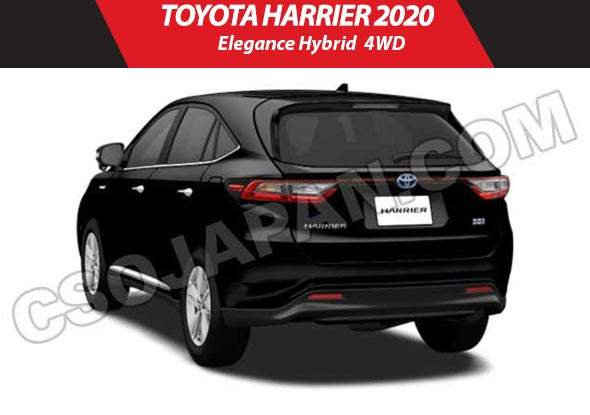 Toyota harrier 2019 image2
