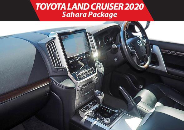 Land cruiser sahara 2019