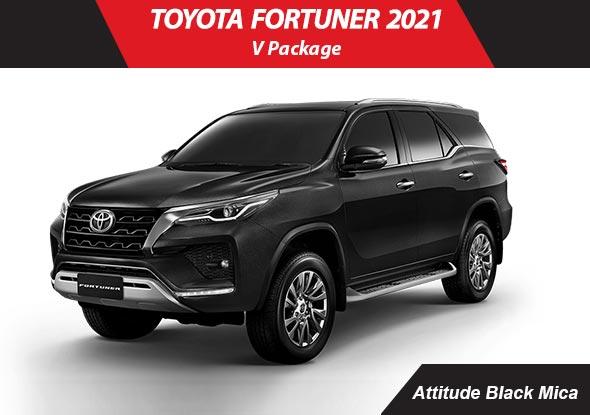 Toyota fortuner 2021 Black Mica