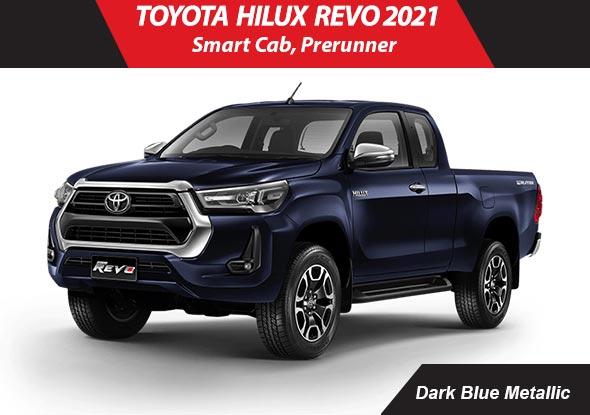 Toyota hilux_revo 2021 Dark Blue Metallic