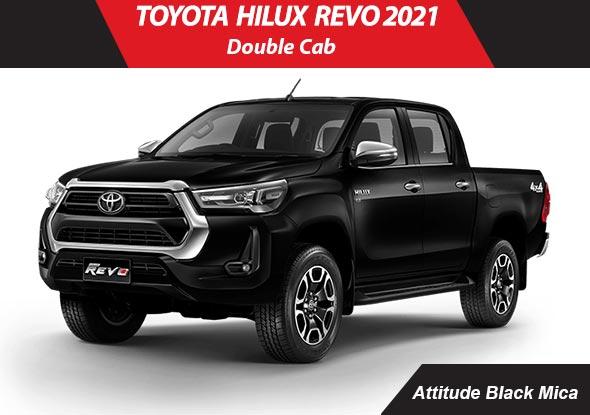 Toyota hilux_revo 2021 Black Mica