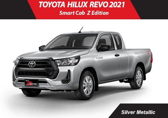Toyota hilux_revo 2021 Silver Metallic