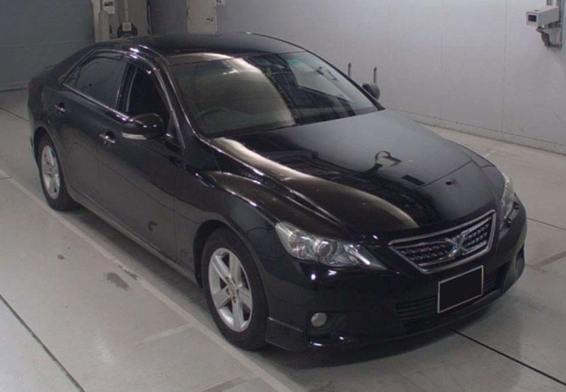 Toyota mark_x 2012 Black
