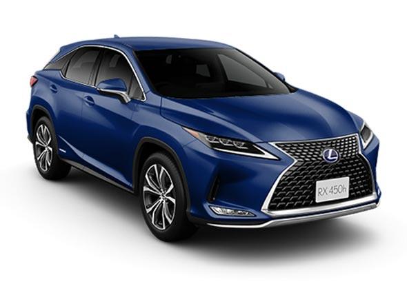 Lexus rx450h 2021 Dark Blue Metallic