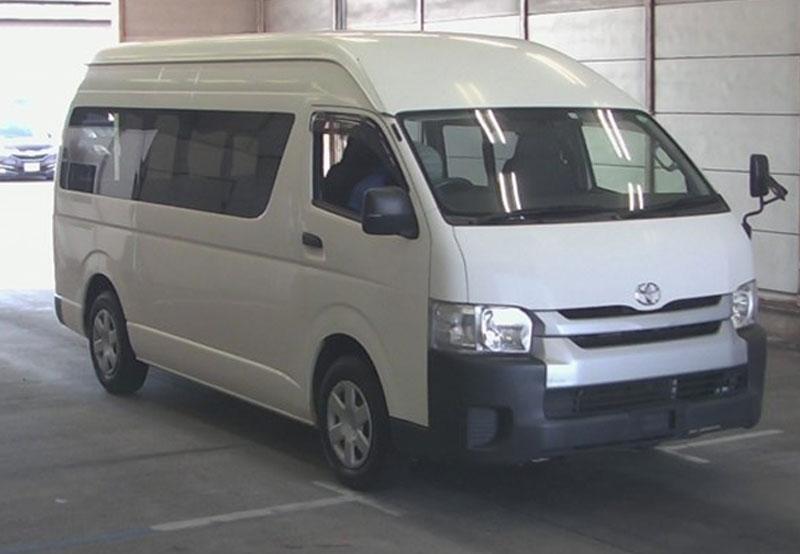 Toyota hiace 2016 White