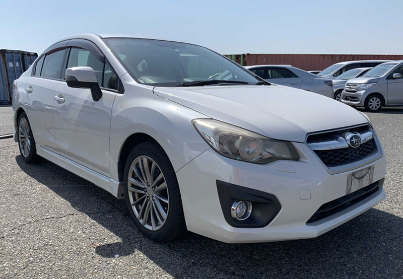 Subaru impreza_g4 2012 White