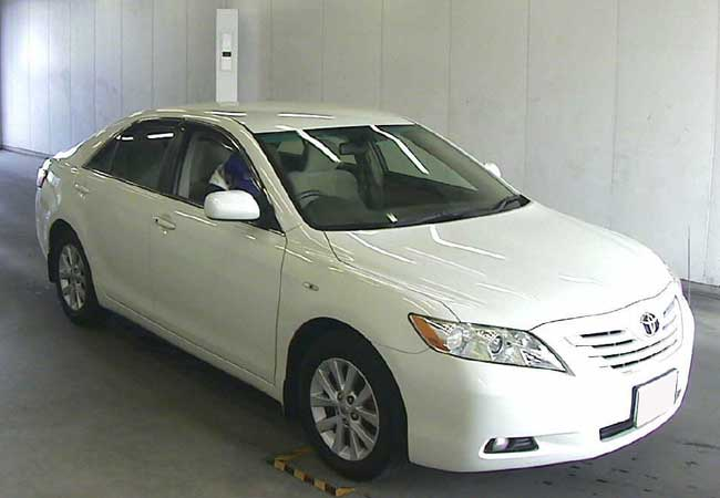 used toyota camry sedans 2006 model in pearl used cars stock 58756 cso japan. Black Bedroom Furniture Sets. Home Design Ideas
