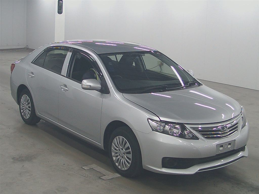 Used Toyota allion Sedans 2012 model in Silver | Used Cars Stock 58909 | CSO Japan