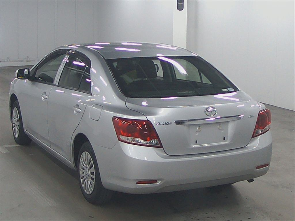 Used Toyota allion Sedans 2012 model in Silver | Used Cars Stock ...