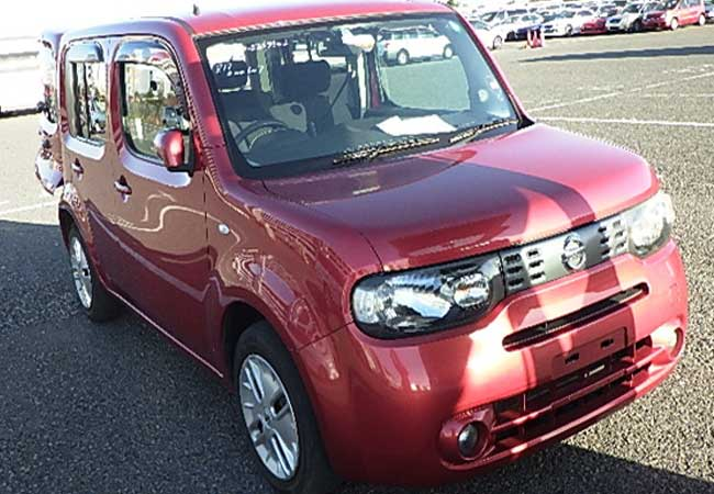 nissan cube 2008 Red