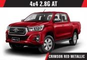 Toyota hilux_revo 2019 Red
