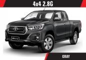 Toyota hilux_revo 2019 Gray