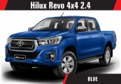 Toyota hilux 2018 Blue