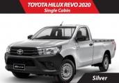 Toyota hilux_revo 2018 Silver