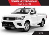 Toyota hilux_revo 2019 White